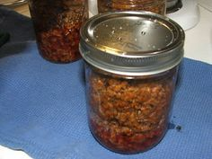 Canning Taco Meat- that could make for a quick meal!