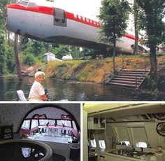 What could be better than an amazing house made out of an airplane? A cheap one. The plane itself cost just $2000, though moving it cost $4000 and renovating it for habitation took another $24000 – but that's still just $30000 for a truly amazing and unique home.