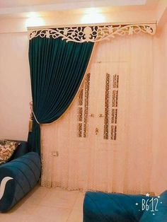 Luxury Curtains, Elegant Curtains, Colorful Curtains, Living Room Decor Curtains, Home Curtains, Bedroom Decor, Curtain Designs For Bedroom, Small Bedroom Designs, Wood Bedroom Furniture