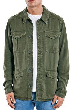 Topman Olive Field Jacket