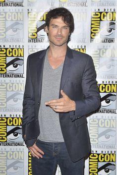 Ian Somerhalder - TVD Comic-Con Press Line 2016 on Saturday (July 23) in San Diego, Calif.