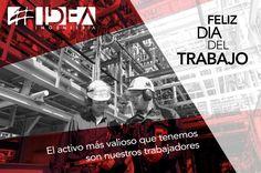 Porque nuestro mejor activo son nuestros trabajadores #FelizDiaDelTrabajo
