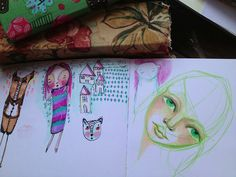 Friday Pages Pages From my Art Journal shared every friday! www.ravenscauldron.blogspot.com
