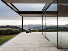 No architecture can make a landscape as soul-stirringly beautiful as the coastline of the Tasman Peninsula more powerful, but the right building can distil and heighten the experience of inhabiting such a place. Setting out to capture the elemental qualities of this experience. #moderninteriors #timberdesign #custombuild #architecturelovers #dreamhouse #housegoals 2 Storey House Design, House Front Design, Modern House Design, Beautiful House Plans, Beautiful Homes, Floor Design, Bed Design, House Elevation, House Goals