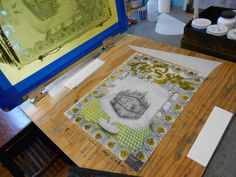 Blog 8: Nine Easy Steps to Silk-screen Printing on Glass — Joseph Cavalieri