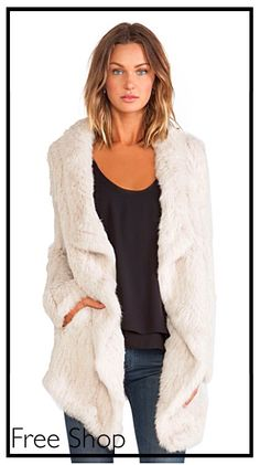 Only 1 Left!! Gorgeous Fur Coat by June, 40% Off!! Don't Miss this Sale at Free Shop Stone Harbor!!