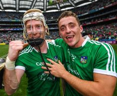 Cork Limerick - Cian Lynch and Pat Ryan (Photo credit : GAA) Lynch, Photo Credit, Football Helmets, Cork, Sports, Sport, Corks