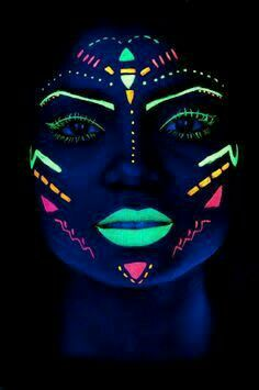Resultado de imagen de pinturas faciales tribales