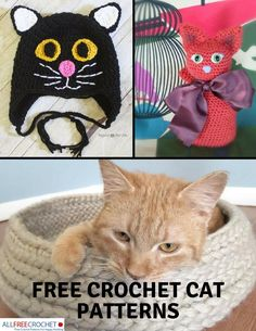 Cat ladies, you re going to ADORE these free crochet cat patterns! They 550c3900acc