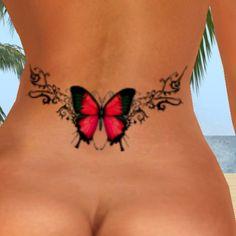 blue morpho butterfly tattoo - Google Search