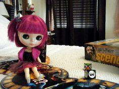 Matilda making her move! #blythe