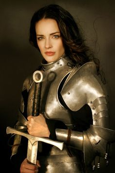 Nicole Leigh as Victoria Celestine - Women in armor reference gallery via Tony Cliff