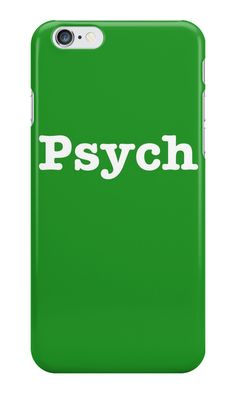 Psych Phone Case Iphone S
