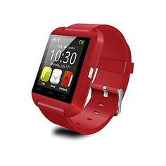 U8 wasserdichte tragbare Smartwatch, Kamera-Nachricht Mediensteuerung / Freisprechen / android / ios Anti-verloren , black - http://uhr.haus/yyf/u8-wasserdichte-tragbare-smartwatch-kamera-ios