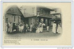 Le Carnaval à Cayenne en 1902. Photo Mme Evrard