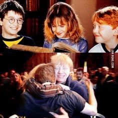 First and last shooting of Harry Potter. You may cry. : First and last shooting of Harry Potter. You may cry. More memes, funny videos and pics on Mundo Harry Potter, Harry Potter Cast, Harry Potter Love, Harry Potter Fandom, Harry Potter Memes, Ron Y Hermione, Ron Weasley, Draco Malfoy, Hogwarts