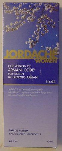 Jordache version of Armani Code for Women from Dollar Tree (I <3 it!)