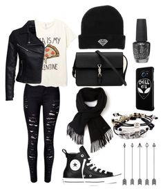 """""""Untitled #143"""" by elisa-toni ❤ liked on Polyvore featuring New Look, Gucci, Lacoste, Converse, OPI, Samsung, Robert Lee Morris, women's clothing, women's fashion and women"""