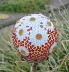 Rosenkugel Gänseblümchen 16 cm Roseball