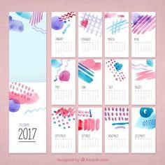 Resultado de imagem para calendário mensal 2017 para imprimir