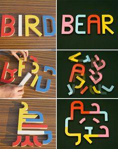 typography toy