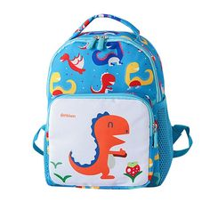 Child School Bag Baby Girls Cute Cartoon Dinosaur Printing Animal Backpack  Toddler School Bag Boys Kids Kindergarten Bookbags Review b4535b84f3944