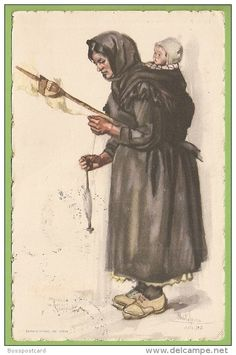Painting of Country Woman with Baby and Pig by Saverio della Gatta Mother Art, Mother And Child, Miranda Do Corvo, Baby Wearing Wrap, Cultural Crafts, Fourth World, Spinning Yarn, Country Women, Portugal