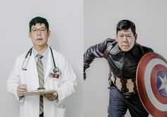 In Hollywood, actors of color often get typecast. Two photographers asked them to depict their dream roles instead. - The Washington Post Mass Culture, Geek Culture, Film Class, Fred Astaire, Jessica Jones, Talent Agency, Photo Illustration, Geisha, Supergirl