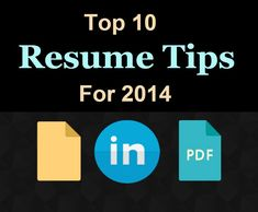 these are your must have resume tips