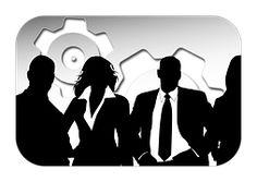 Empresa, Pessoal, Silhuetas, Empresário