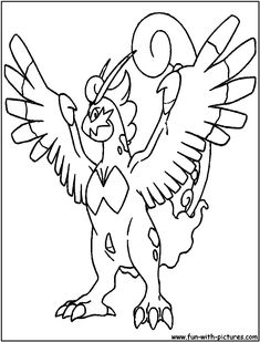 Pokemon Thundurus Coloring Pages From The Thousand Images On Line In Relation To We All Choices Very Best Series