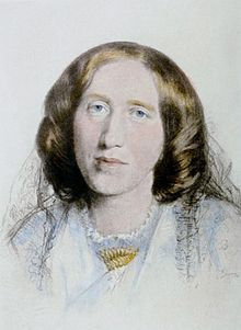 George Eliot by Frederick William Burton. She didn't publish a novel until she was 40.