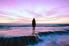 Praia, Mar, Pôr Do Sol, Sol E Mar