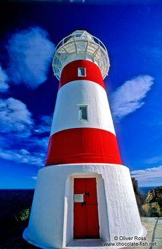Cape Palliser #lighthouse - #New #Zealand    http://dennisharper.lnf.com/