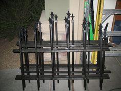 diy cemetery fence