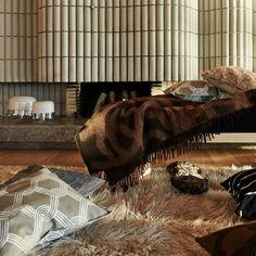 Die Joonas Decke von Marimekko ist einfach nur kuschelig.....