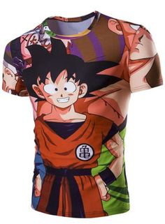 SHARE & Get it FREE   Slimming 3D Dragonball Printed Round Collar Short Sleeves T-Shirt For MenFor Fashion Lovers only:80,000+ Items • New Arrivals Daily • FREE SHIPPING Affordable Casual to Chic for Every Occasion Join RoseGal: Get YOUR $50 NOW!