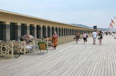 Planches - Deauville, Calvados, France.