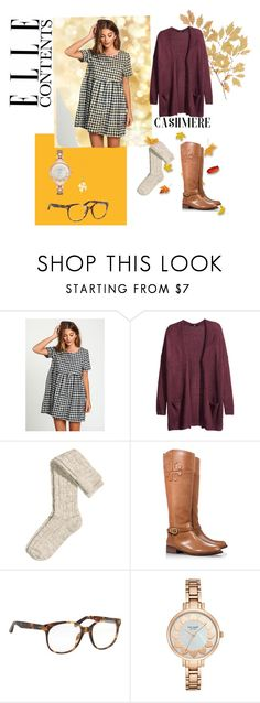 """""""Untitled #114"""" by xcgirl113 on Polyvore featuring H&M, Tory Burch, Linda Farrow, Kate Spade and Tiffany & Co."""