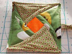 Magic Squares Tutorial, potholder but could be a quilt block?