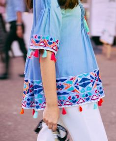 Online shopping for Street Style from a great selection at Fashion Store. Indian Fashion, Boho Fashion, Fashion Dresses, Fashion Trends, Casual Wear, Casual Dresses, Moda Hippie, Mode Top, Pakistani Dresses