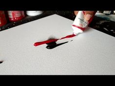 Acrylic Abstract Painting / Demonstration / Project 365 days / Day #039 - YouTube