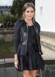 f7fde5d621f Paris Fashion Week Olivia Palermo in Christian Dior