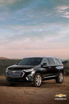 Explore the 2020 Chevrolet Traverse mid-size SUV with enough space to fit the entire family, bold and refined style, and above and beyond safety features. Chevrolet Traverse, Chevrolet Tahoe, 3rd Row Suv, Best Midsize Suv, Best Compact Suv, 2019 Ford Explorer, Suv Comparison, Automobile, Ford Flex