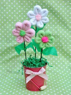 Washcloth Flower Bouquet