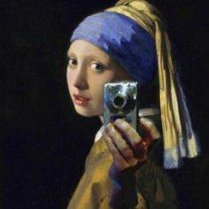 Girl With Pearl Earring..and Canon
