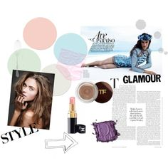 fashion by veronica-jaz on Polyvore featuring Bobbi Brown Cosmetics