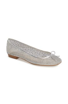 Cinderella shoes! Kristin Cavallari 'Alli' Mesh Ballet Flat (Women) available at #Nordstrom