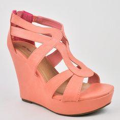 Women's Cute Fashion Wedge Heel Zip Up Zipper Sandals Shoes Top Moda | eBay