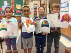 A group of Mrs. Hargrave's students share their Not Perfect Hats #1